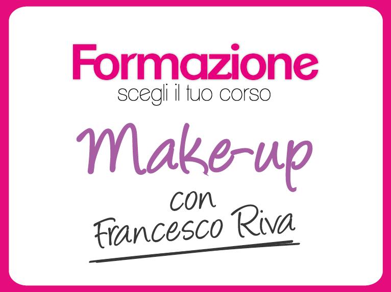 Corsi make-up con Francesco Riva